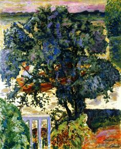 Tree by the river, 1909 - Pierre Bonnard