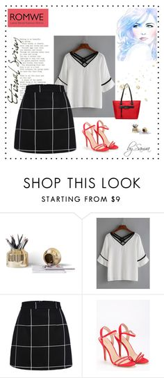 """ROMWE 2/II"" by samra-dzabija ❤ liked on Polyvore"