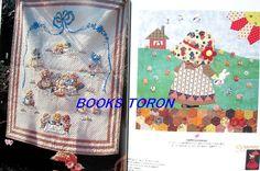 Sunbonnet Sue Quilt Designs   Sunbonnet Sue Pattern 70/Japanese Patchwork Quilt Sewing Craft Pattern