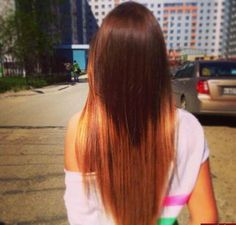 Using this as an example for what I don't want, I'm looking for a soft ombré not dip dye