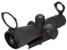 The NcSTAR 3 – 9×42 mm Mark III Rubber Tactical Scope with Integrated Laser offers the shooter all the great features of the original Mark III Tactical Series Scopes such as the weaver style quick release system and built-in sunshade, but withimage the added protection of rubber armoring and a fully adjustable red laser. You will enjoy the 3-9x magnification range that will allow you to reach out there and accurately nail long distance targets.