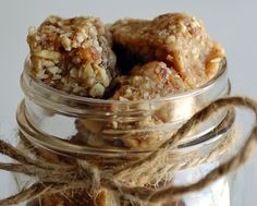 energy bars. just cashews, dates, and a touch of honey!