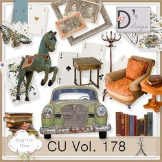 Description:  Commercial Use 178 by Doudou's Design  This set contents 17 elements created and/or photographed and/or extracted by myself.  Shadows only on preview