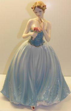 COALPORT LADY FIGURINE DEAREST ROSE COMPTON & WOODHOUSE CW538 LIMITED EDITION http://www.ebay.com/