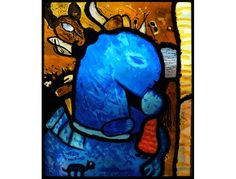 Peter Young - Stained Glass Artist / Ireland - Exhibition Works