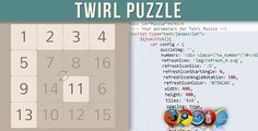 Twirl Puzzle (Images and Media) - http://www.lupomare.com/twirl-puzzle-images-and-media/