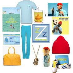 """The Life Aquatic"" by papersparrow on Polyvore"