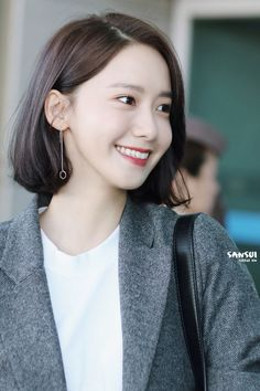 Yoona - Incheon Airport to Jakarta for Innisfree event Im Yoon Ah, Yoona Snsd, Airport Style, Airport Fashion, Beauty Photos, Korean Celebrities, Girl Day, About Hair, Hair Designs