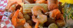 Shrimp Boil | dinner party with sam's wholesale club
