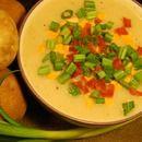 Creamy Baked Potato Soup (Vegan)