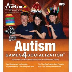 Autism Games 4 Socialization®: Using The Son-Rise Program® Social Developmental Model - 2 DVD Set