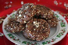 Pecan Pie Christmas Cookies (Raw Vegan)@ Sweet Selena
