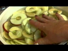 Dehydrated Apples coated with cinnamon sugar (+playlist)