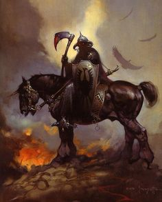 "Fire and Ice Frank Frazetta | Til Dawn,"" ""Dark Kingdom,"" ""Egyptian Queen,"" ""Fire and Ice ..."