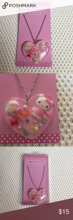 Hello Kitty Necklace Brand new hello kitty necklace in a box Hot Topic Jewelry Necklaces