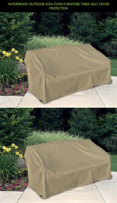 Waterproof Outdoor Sofa Patio Furniture Three-Seat Cover Protection #plans #patio #camera #drone #tech #racing #covers #products #parts #shopping #gadgets #technology #kit #furniture #fpv
