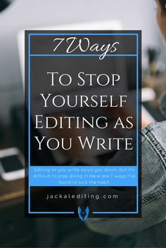 Great advice for people like me who are natural editors--our tendency to edit can slow down the writing process and hinder creativity.