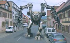 Sans prévenir et pour une raison encore inexpliquée, un Robot Cyborg de type Golgoth sorti d'on ne sait où est apparu dans les rues de Marlenheim, une petite commune paisible du Bas-Rhin en Alsace.