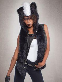 Spirit hood :: ADULTS :: Women's Full Hoods :: Skunk
