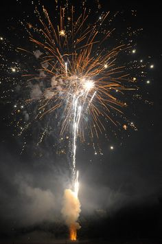 Fireworks are a must to bring in the New Year!
