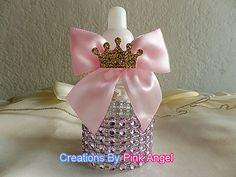 12PCS Little Princess Baby Shower Favors por CreationsByPinkAngel