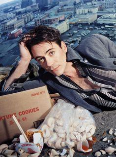 Robert Downey Jr photographed by David Lachapelle - 2001 Robert Downey Jr Young, Robert Downey Jnr, Robert Jr, Anthony Edwards, Iron Man Tony Stark, Super Secret, Hollywood, Man Thing Marvel, Downey Junior