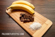 Chocolate Banana Boats | Paleo Diet Lifestyle YUM!