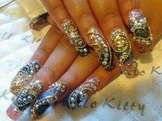 Sinaloa Nails Pictures   tags acrylic nail art nail art gallery nail designs nail