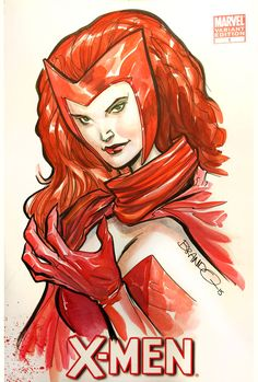 Scarlet Witch by Brandon Peterson *