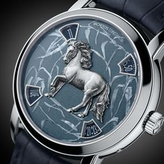 Vacheron Constantin Metiers DArt Year of the Horse Platinum 86073/000P-9832