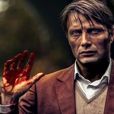 """Mads Mikkelsen Official (@theofficialmads) on Instagram: """"Uh oh! It's Halloween—let's watch something really scary.  #halloween#hannibal #theofficialmads"""""""