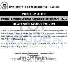 Punjab university lahore admission 2019 last date