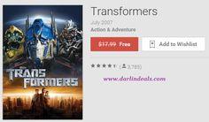 *FREE MOVIE* Hurry to get TRANSFORMERS movie for FREE! -> http://www.darlindeals.com/2015/03/free-transformers-movie-digital-copy.html