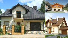 Cele mai frumoase idei de case mici cu mansarda