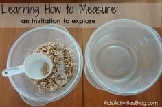 Teach Kids to Measure-Learning how to measure is an important science skill.