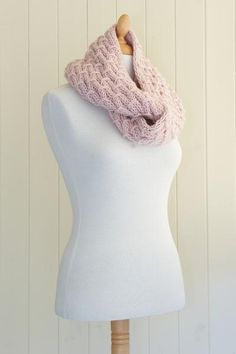 Strawberry Hill Cowl - twisted up