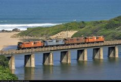Umgababa Bridge on the Kwazulu Natal South Coast, South Africa
