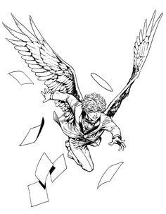 現在単行本作業中で、エニデヴィは次の3巻で最終巻となります。装丁、とびきり可愛く描きますよ!楽しみにしてくれている方は、もう少し待っていてくださいね。 Thanks For the #1000follwers ! Art Reference Poses, Drawing Reference, Art Sketches, Art Drawings, Desenhos Halloween, Wings Drawing, Arte Sketchbook, Character Drawing, Character Design Inspiration