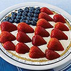 American Berry No-Bake Cheesecake