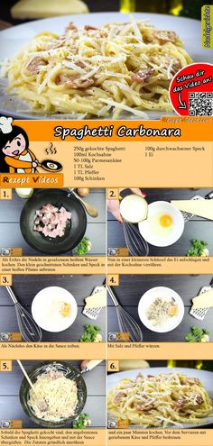 Spaghetti Carbonara Rezept mit Video Source by gudrunrothkugel Related posts: Einfache Spaghetti Carbonara Spaghetti Carbonara – ganz ohne Sahne! Simple spaghetti carbonara Original spaghetti carbonara recipe and great other pasta recipes Crockpot Recipes Mexican, Healthy Crockpot Recipes, Italian Recipes, Spagetti Carbonara, Carbonara Recept, Pastas Recipes, Yummy Pasta Recipes, Recipe Pasta, Albondigas