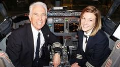 """Imagine the pride American Airlines pilot Scott Byrne felt when he realized his co-pilot for the next few days would be someone he knew well. And imagine the excitement Jen Byrne felt sitting next to a man she called her """"hero"""" as the plane she was piloting took off. The dad-and-daughter duo, both pilots for American Airlines, had the opportunity to fly together Wednesday for the first time as First Officer and Captain. """"It also marked the one-year anniversary since I've joined American,""""…"""