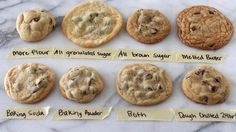 The Science Behind Baking Your Ideal Chocolate Chip Cookie : The Salt : NPR