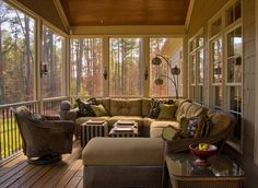Screened in porch furniture ideas cozy porch feels like an extension of the house small screen porch furniture ideas Outdoor Rooms, Outdoor Living, Outdoor Furniture Sets, Furniture Ideas, Furniture Layout, Furniture Arrangement, Garden Furniture, Furniture Design, Interior Exterior