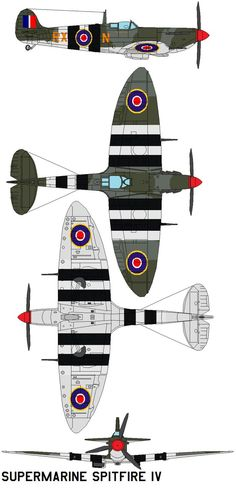 The Supermarine Spitfire is a British single-seat fighter aircraft used by the Royal Air Force and many other Allied countries through the Second World War. The Spitfire continued to be used into t...