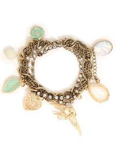Leaf Chain Charm #Bracelet