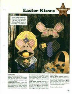 Plastic Canvas Easter Kisses 1/2