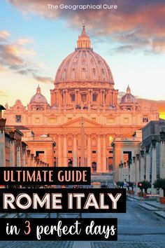 3 Days In Rome, Day Trips From Rome, Weekend City Breaks, Museum Guide, Rome Itinerary, Rome Travel, Ancient Ruins, Rome Italy, Culture Travel