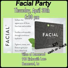 Give your face the spa treatment! Villas of Hammond 900 Richsmith Lane Hammond, LA