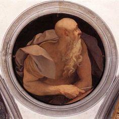 Agnolo Bronzino-Saint John the Evangelist: ca 1525