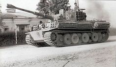 Befehlstiger I Mid Production, commanded by Oberleutnant Wolfgang Koltermann of Stab/s.Pz.Abt.507 Taganrog sector.
